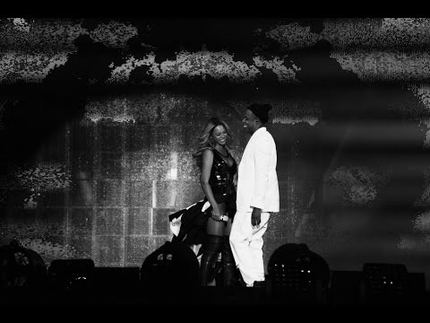 Video: Touching finale to the Jay Z / Beyonce tour in Paris - personal home videos!