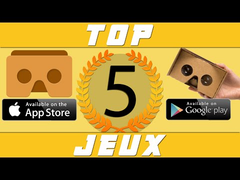 Top 5 Meilleurs Jeux et Applications Cardboard IOS/Android 2016