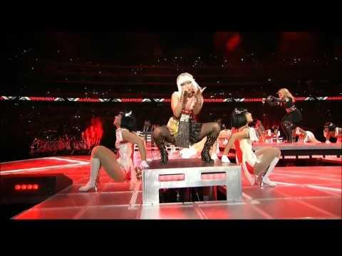 Madonna Give Me All Your Luvin' Nicki Minaj M.I.A. Super Bowl 2012 HD 1080P