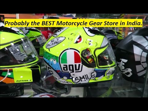 Probably the BEST Motorcycle Gear Store in India. (Telangana/ Andhra State)
