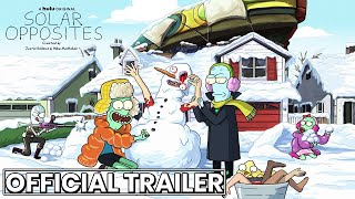SOLAR OPPOSITES Official Trailer Hulu Series (2020) Co-Creator of Rick and Morty Adult Animation HD by CinemaBox Trailers
