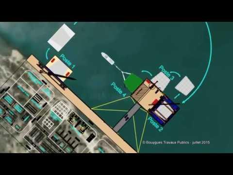 Extension en mer : le caissonnier Marco Polo
