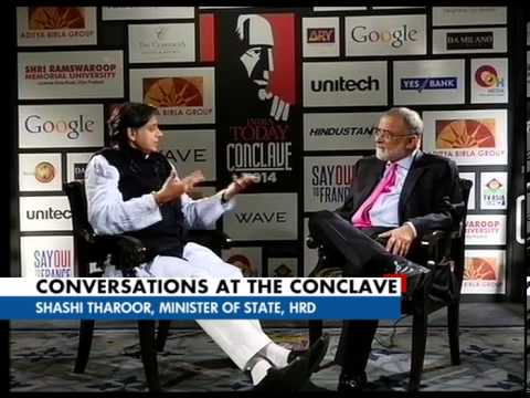 Conversations at the Conclave with Shashi and Rashid
