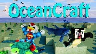 Minecraft | SHARKS MOD Showcase! (SHARKS, SKOOBA, CANNIBAL TRIBES)