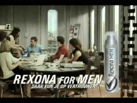 banned commercial for Rexona VICKY