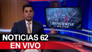 Deficiencia militar – Noticias 62 - Thumbnail