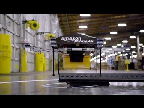 Η Amazon προσπαθεί να πετάξει drone στη Μ. Βρετανία – economy