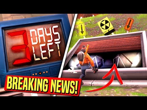 *BREAKING NEWS* WAILING WOODS BUNKER OPENS JUST BEFORE NATURAL DISASTERS HIT FORTNITE!: BR
