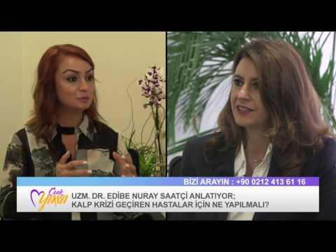 Kardiyoloji Uzmanı Uzm. Dr. Edibe Nuray Saatçi Röportajı - Çook Yaşa Programı (видео)