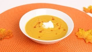Roasted Butternut Squash Soup Recipe - Laura Vitale - Laura in...