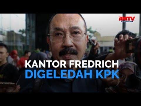 Kantor Fredrich Digeledah KPK