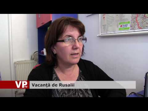 Vacanţă de Rusalii