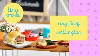Tiny Beef Wellington | The Tiny Kitchen by Tastemade