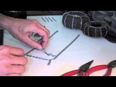 BenderCustoms - How to make your own snow chains for R/C tires.
