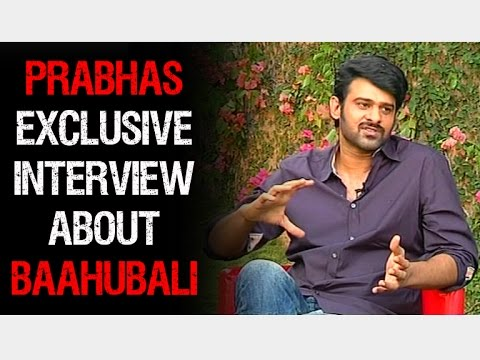 Baahubali Prabhas Exclusive Interview | Full Episode