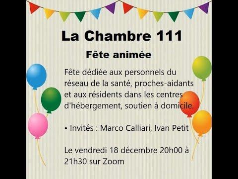 « La chambre 111 », Ven 18 déc 20h00 à 21h30