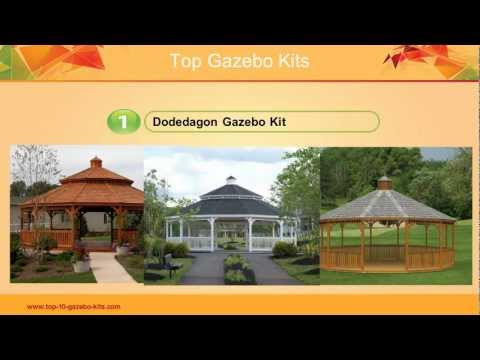 gazebos - Gazebo Kits - http://www.top-10-gazebo-kits.com/ Update your garden with a fantastic outdoor gazebo and enjoy the outdoors all year round. Do it yourself or ...