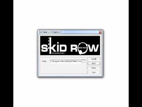 SKIDROW Installer Template #1 (Darksiders/Civilization V)