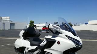 8. 2018 White Goldwing Tour DCT --CALL & DEMO TODAY!