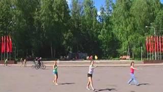 Obninsk Russia  city photo : Solibad Flashmob in Obninsk, Russia (05.06.2011)