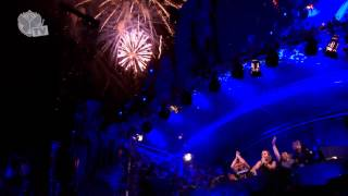 Tomorrowland 2013 Final performance David guetta - Steve aoki - Afrojack - Nicky romero [HD]