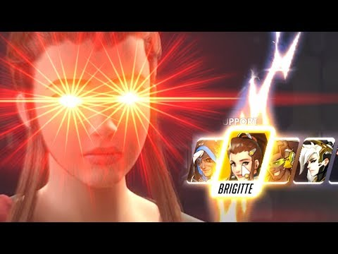 You Insta-locked Brigitte in the Wrong Rally