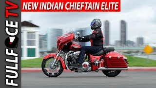 4. 2017 Indian Chieftain Elite Specs Review