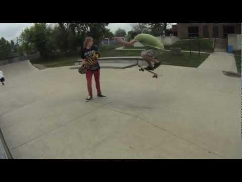 4 mile skatepark session