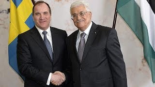 Filistin Devlet Başkanı Mahmut Abbas İsveç'te