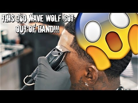 THE 360 WAVE BIG CHOP HAIRCUT!!! THIS WOLF WAS GETTING RIDICULOUS!!!