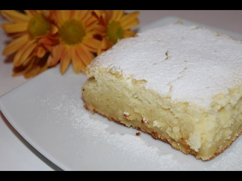 Prajitura cremoasa cu lamaie - Lemon pudding cake