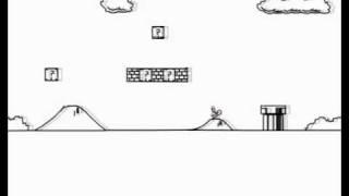 Line Rider Super Mario Bros. 1-1