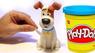 Video Max from The secret life of pets movie Stop motion play doh clay cartoon MP3, 3GP, MP4, WEBM, AVI, FLV Agustus 2018