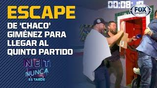 El escape de 'Chaco' Giménez por el quinto partido
