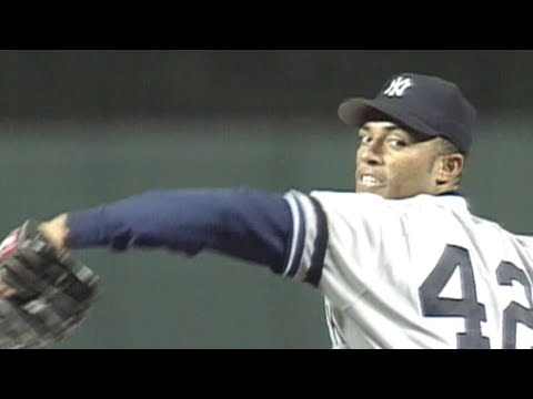 Video: Mo throws a scoreless 7th, 8th in 1996 ALCS Game 4