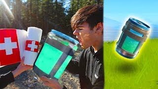 BEST FORTNITE ITEMS IN REAL LIFE CHALLENGE! (Fortnite Items In Real Life) | David Vlas