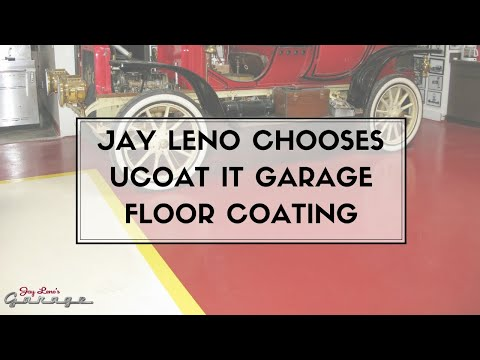 Jay Leno Chooses UCoat It Garage Floor Coating