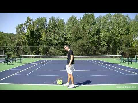 Serve Toss Tennis Lesson — Accuracy and Consistency