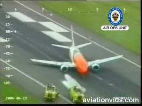 Crazy Boeing 737 Crash Landing