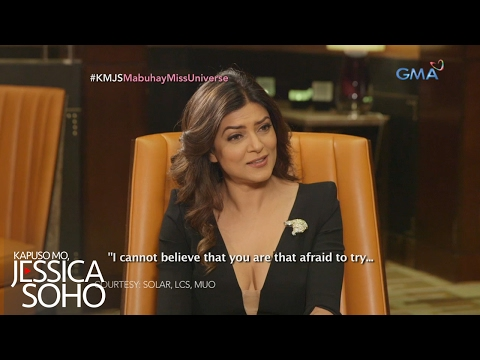 Kapuso Mo, Jessica Soho: One-on-one Interview With Miss Universe 1994 Sushmita Sen