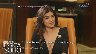Video Kapuso Mo, Jessica Soho: One-on-one interview with Miss Universe 1994 Sushmita Sen MP3, 3GP, MP4, WEBM, AVI, FLV November 2018