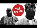 "THE BIG LIE ""BIGGIE WAS 2PAC'S PROTEGE FOR THUG LIFE AND DISS AFTER DEATH"