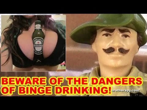 Binge Drinking Safety Brief – Action Figure Therapy