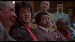 Rocky II - Heated Press Conference (1979)