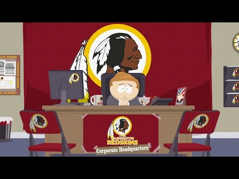 """south - Cartman's new Washington Redskins business draws some unexpected attention. Watch the new South Park episode """"Go Fund Yourself"""" for FREE right here: http://c..."""