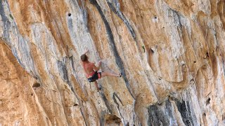 CAC 8a / 5.13b (Leonidio, Greece) Uncut Ascent by Mani the Monkey