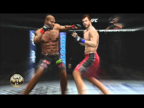 UFC Undisputed 3 gameplay - Some more gameplay from ufc undisputed 3. Barely got 10 minutes in the lab and im already beatin keith left and right in this game. Im quinton rampage jackso...
