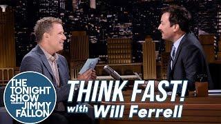 Video Think Fast! with Will Ferrell MP3, 3GP, MP4, WEBM, AVI, FLV Oktober 2018