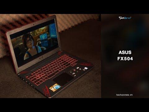 ASUS FX504 - Laptop gaming với cấu hình cực khủng và thiết kế đẹp mắt thu hút mọi ánh nhìn