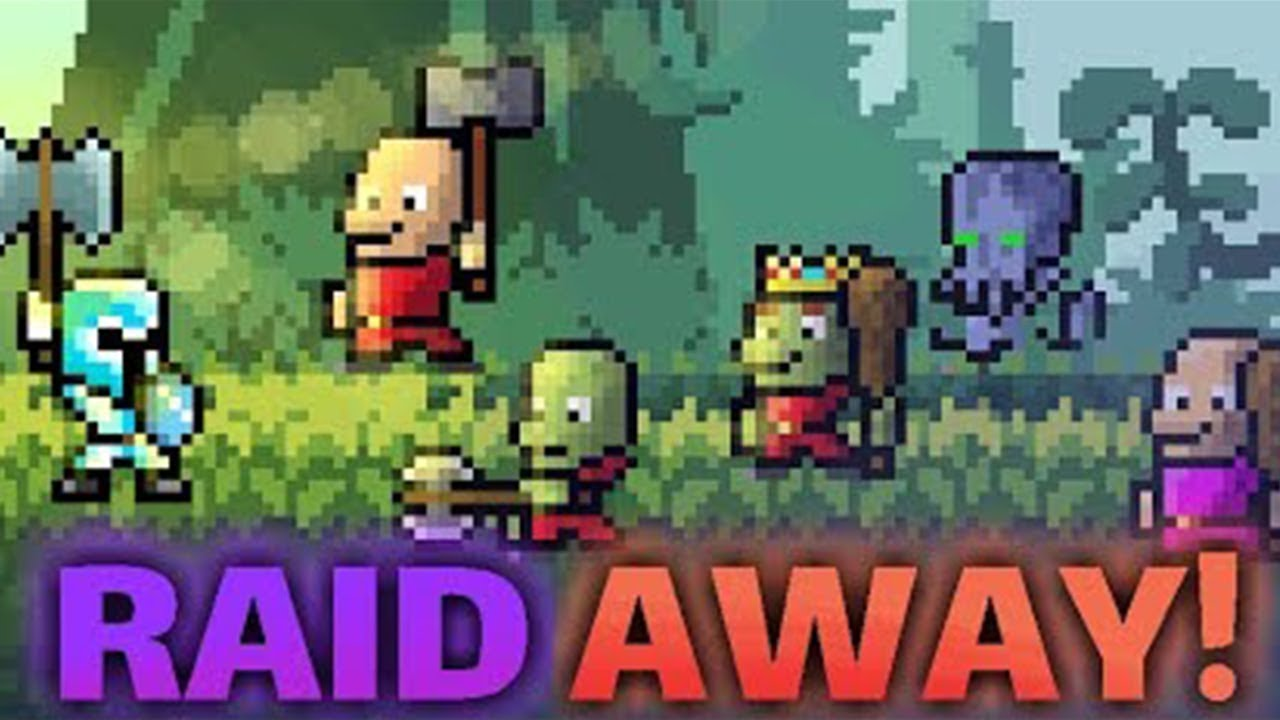 Raid Away! - RPG Idle Clicker